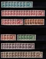 Kouang Tcheou - Stock N** - YV 97 (9) , 98 (22) , 100 (4) , 101 (11) , 102 (14) , 103 (5) , 125 (6) Cote 18,20+ Euros - Kouang-Tchéou (1906-1945)