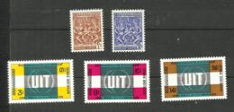 Khmère N°296, 297, 304 à 306 Neufs** Cote 3.20 Euros - Cambodia