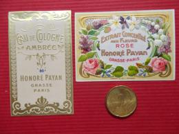 Etiquette Parfum H Payan Grasse PROMO - Labels