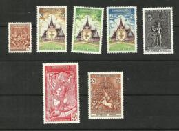 Khmère N°296, 329 à 332, Poste Aérienne N°28, Taxe N°6  Neufs** Cote 2.50 Euros - Cambodia