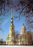 1 AK Russia * St. Petersburg - Peter-und-Paul-Kathedrale - Erbaut 1713 Bis 1732 - Seit 1990 UNESCO Weltkulturerbe * - Russia