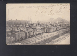 Carte Postale Mohon Chemins De Fer De L'Est 1903 - Bretagne