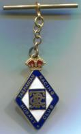 TASMANIA / AUSTRALIA - RACING HOBART CLUB 1961, Enamel, Vintage Pin, Badge, Abzeichen, Key Chain - Rallye