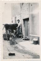 Snapshot Berck Plage Juin 1937 Marins Pêcheurs Filet Poisson Rue Fish Balai - Métiers