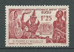 SAINT PIERRE ET MIQUELON 1939. N° 189 .  Neuf *  (MH) - St.Pierre Et Miquelon
