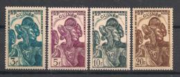 Guinée - 1938 - N°Yv. 143 à 146 - Guinéenne - 4 Valeurs - Neuf Luxe ** / MNH / Postfrisch - Französisch-Guinea (1892-1944)