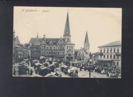 Dt Reich AK Mönchengladbach Markt 1911 - Mönchengladbach