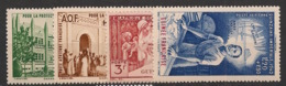 Guinée - 1942 - Poste Aérienne N°Yv. 6 à 9 - PEIQI - Neuf Luxe ** / MNH / Postfrisch - Guinée Française (1892-1944)