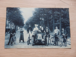 BRASSCHAET-POLYGONE - Vue Sur La Chaussée De Breda - Automobile, Vélos, Gendarme, Facteur - Circulé - 2 Scans - Brasschaat