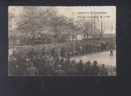 Schweiz AK Kaserne Frauenfeld Ankunft In Die Quarantäne - TG Thurgovie