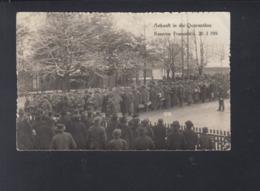 Schweiz AK Kaserne Frauenfeld Ankunft In Die Quarantäne - TG Thurgau
