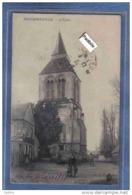 Carte Postale 27. Heudebouville  L'église  Trés Beau Plan - Sonstige Gemeinden