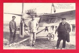 Aviation-357Ph  Le Monoplan ANTOINETTE IV, Le Constructeur M. Levavasseur, Le Pilote Hubert Latham, Cpa BE - ....-1914: Précurseurs