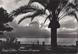 Reggio Calabria - Tramonto Sul Lungomare - H5679 - Reggio Calabria