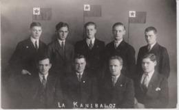 AKEO Card About Members Of An Esperanto Group In Kristiansand, Norway 1936 - Esperanto-Grupo En Norvegio - Mi 124 - Esperanto