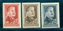 1949 STALIN,70th Birth Anniv.,Hungary,1066,MNH - Persönlichkeiten