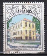 Barbados Single 25c Stamp From The 1991 Anniversary Of Freemasonry Series. - Barbados (1966-...)