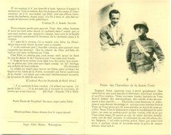 Doodsprentje - Carte De Deuil Georges De Groote En Gauthier De Groote - Concentratiekamp Gross-Rozen En Dora-Nordhausen - Décès