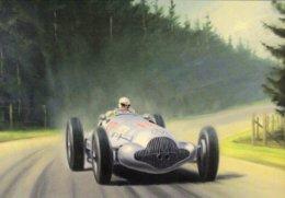 Mercedes-Benz Grand Prix  -  Automotive Art Postcard - Carte Postale Modern - Grand Prix / F1