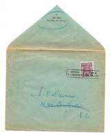 N° 273  5 Ct/30ct PREO 1929 En Met Stempel Terug Naar Afzender / Retour.. Verso :label  Parti Sans../vertrokken.. - 1922-1927 Houyoux