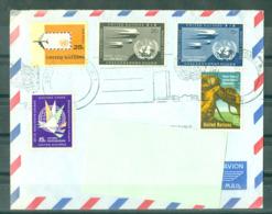 NATIONS UNIES - LETTRE DE NEW-YORK - Lettres & Documents