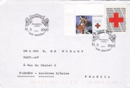 Saint Marin Lettre 2000 - Lettres & Documents