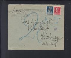 Dt Reich Bayern Brief 1920 Nachporto - Briefe U. Dokumente