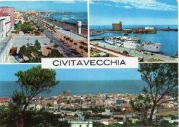 CIVITAVECCHIA - Viale Garibaldi - Veduta Del Porto - Panorama - Vedute - Civitavecchia