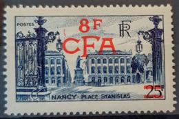 RÉUNION / CFA 1949/52 - MNH - YT 301 - 8F - Réunion (1852-1975)