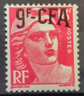 RÉUNION / CFA 1949/52 - MNH - YT 303 - 9F - La Isla De La Reunion (1852-1975)