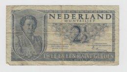 @Y@  Nederland 2 1/2 Gulden Biljet           Circulatie - [3] Uitgaven Van Het Ministerie Van Oorlog