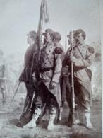 Photographie De Cabinet GOUPIL - Guerre De 1870 - La Garde Du Drapeau - Protais - TBE - Foto
