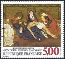 France 1988 - Mi 2694 - YT 2558 ( Pieta By Enguerrand Quarton ) - Oblitérés