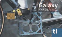 SUIZA. Billete De Transporte › Galaxy Velo. 07.2007. CH-TL-005.01. (086). - Transporte