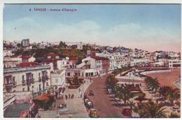 MAROC . TANGER . AVENUE D'ESPAGNE . Editeur LEBRUN - Tanger