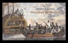 Norfolk Island 2019 Mih. 1288/89 (Bl.74) Mutiny On The Ship Bounty MNH ** - Norfolk Island