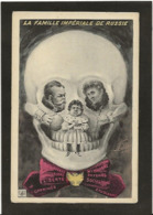 CPA Russie Mille Illustrateur Russia Russian Non Circulé Tsar Nicolas II Arcimboldesque Royalty Mort Crane - Russie