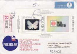 Pologne Lettre 1991 - 1944-.... République
