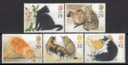 GREAT BRITAIN 1544-1548,unused,cats - Domestic Cats