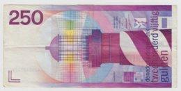 @Y@      Nederland     250 Gulden 1985 Lighthouse    Circulatie - [3] Uitgaven Van Het Ministerie Van Oorlog