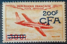 RÉUNION / CFA 1954 - MNH - YT PA 54 - 200F - La Isla De La Reunion (1852-1975)