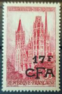 RÉUNION / CFA 1957/59 - MNH - YT 338 - 17F - La Isla De La Reunion (1852-1975)