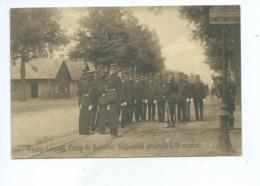 Leopoldsburg Bourg Leopold Camp De Beverloo Inspection Générale à La Caserne - Leopoldsburg (Camp De Beverloo)