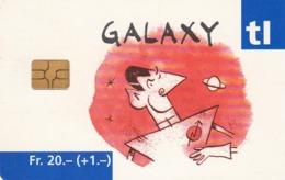 SUIZA. Billete De Transporte › Galaxy Rouge. 11.2002. CH-TL-001.02a. (088). - Otros