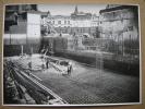 LIEGE -PHOTO 1933 -Construction Banque Générale De Liège & De Huy Bd De La Sauvenière -Cinéma COLISEE - Théâtre TRIANON - Liege