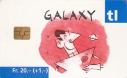 SUIZA. Billete De Transporte › Galaxy Rouge. 07.2002. CH-TL-001.02. (087). - Otros