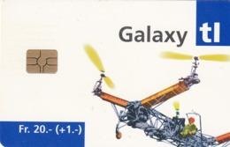 SUIZA. Billete De Transporte › Galaxy Avion 2. 06.2004. CH-TL-002.03. (089). - Transporte