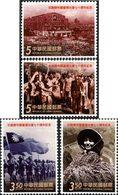 FORMOSE 70ans Victoire/Japon 4v 2015 Neuf ** MNH - 1945-... République De Chine