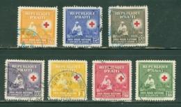 Poste Aérienne. Haïti; Timbres Scott Stamps # C-25 - C-31; Usagés / Used. (8161) - Haïti
