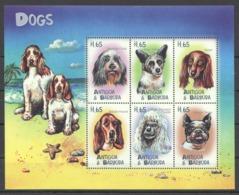 I065 ANTIGUA & BARBUDA FAUNA PETS DOGS 1KB MNH - Honden